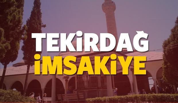 2018 Tekirdağ imsakiye sahur ve iftar vakti! Sabah ve Akşam ezanı saati...