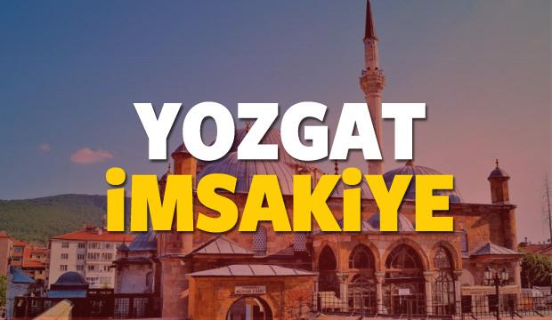 2018 Yozgat imsakiye sahur ve iftar vakti! Sabah ve Akşam ezanı saati...