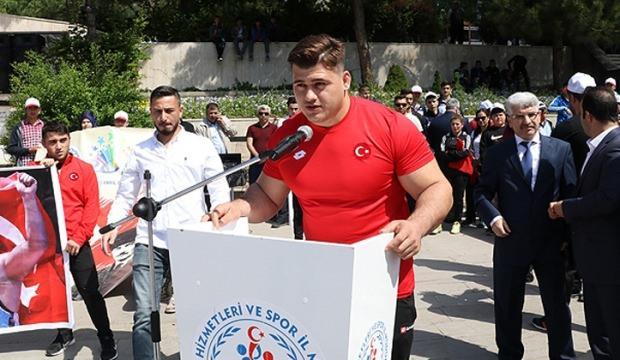 Şampiyon Rıza'dan İsrail'e: Kudüs, Filistin'dir!