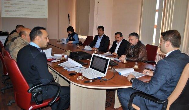 Hafik'te seçim güvenliği toplantısı yapıldı