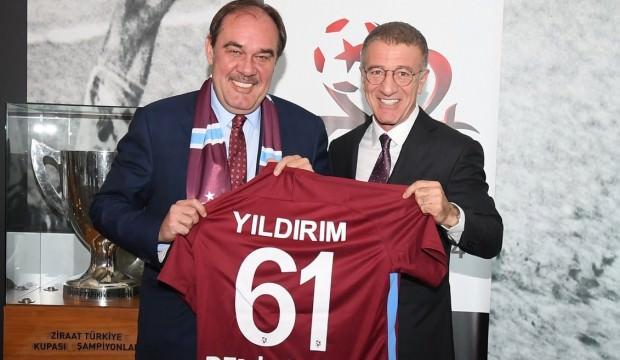 Ahmet Ağaoğlu'ndan Demirören'e ziyaret