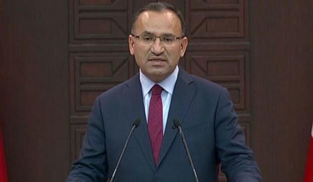 Bozdağ: CHP'yi APO'nun askeri yapacaklar!