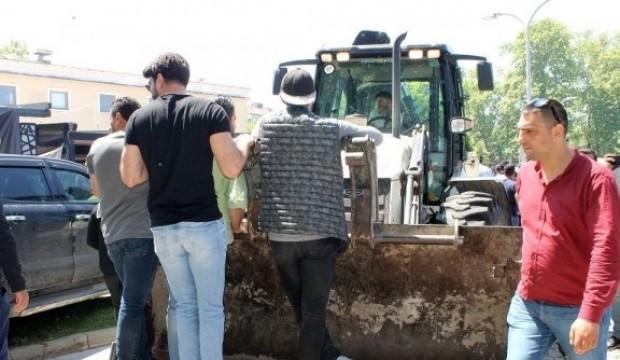 CHP'li belediye ile esnaf birbirine girdi