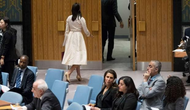 BM'de büyük skandal! Salonu terk etti