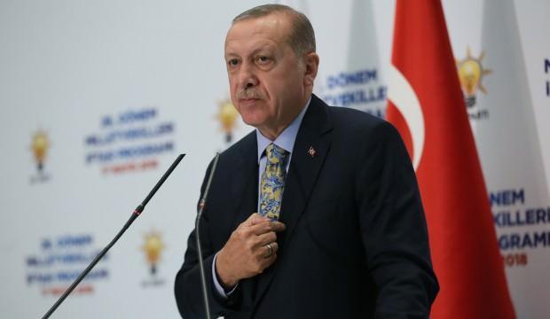 Cumhurbaşkanı Erdoğan AK Parti iftarında konuştu