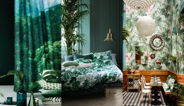 Dekorasyonda botanik trendi