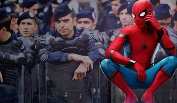 Denizlili 'Spiderman' hayatının şokunu yaşadı