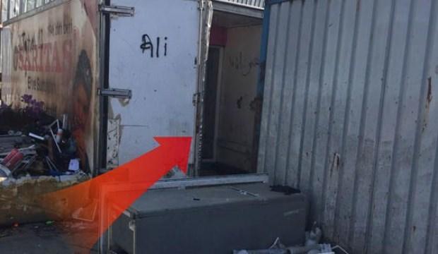 İstanbul'daki konteynerde korkunç 9 gün