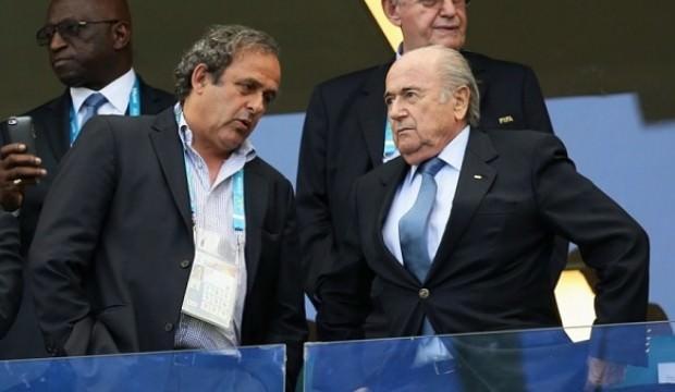 Blatter, Dünya Kupası için Platini'yi suçladı