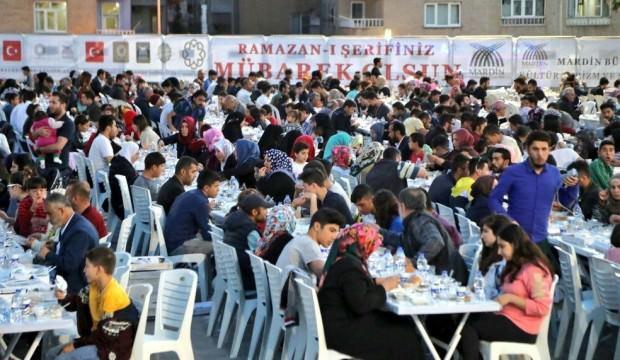 Mardin'de büyük iftar buluşması