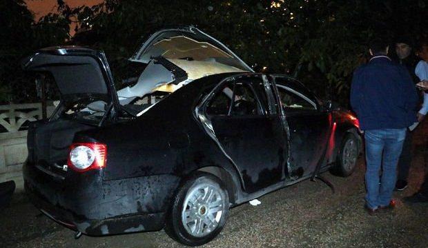 Otomobilde çakmak gazı tüpleri patladı: 2 yaralı