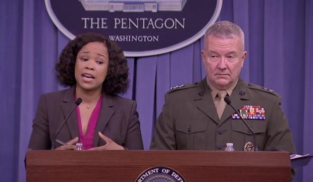 Pentagon sözcüsünden küstah açıklama
