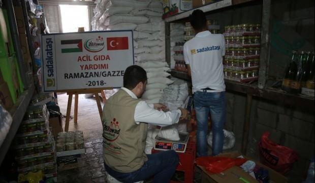 Sadakataşı'ndan Gazze'ye acil yardım