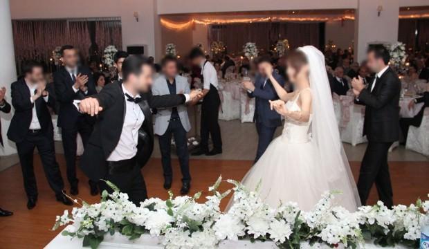 Yeni evli çifti televizyonda şoke eden görüntü!