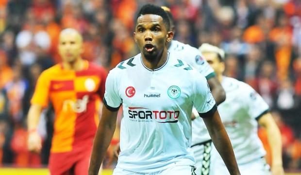 Atiker Konyaspor'da Eto'o depremi!