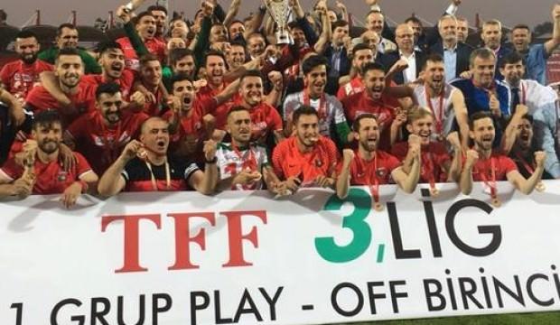Bayrampaşa, TFF 2. Lig'e yükseldi