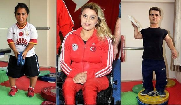 Engelli halterciler Avrupa'da 8 madalya kazandı