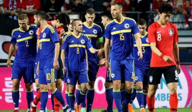 Edin Visca coştu, Bosna Hersek kazandı