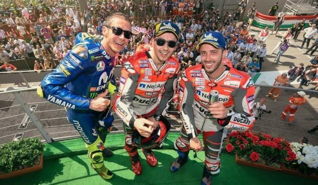 İtalya'da Jorge Lorenzo kazandı!