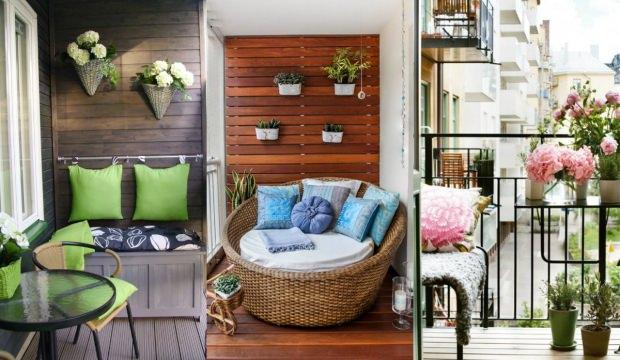 Kucuk Balkonlar Icin Dekorasyon Onerileri Dekorasyon Haberleri
