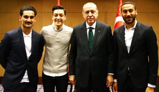 Cumhurbaşkanlığı'ndan Mesut Özil açıklaması