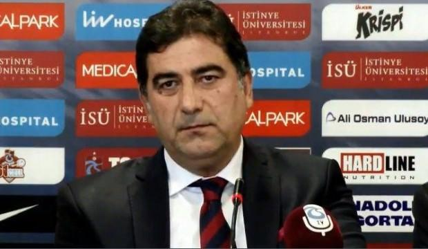 Trabzonspor açıkladı! Ünal Karaman'ın maaşı...