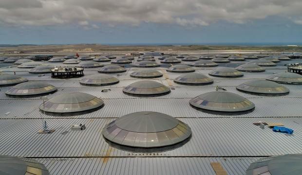 Yeni Havalimanı daha açılmadan rekor kırdı