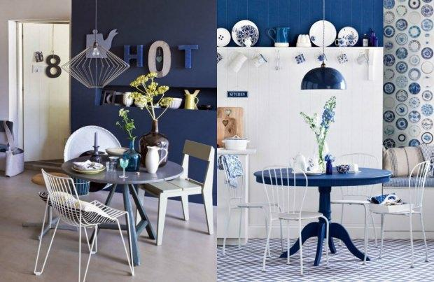 Dekorasyonda bleu blanc trendi 96