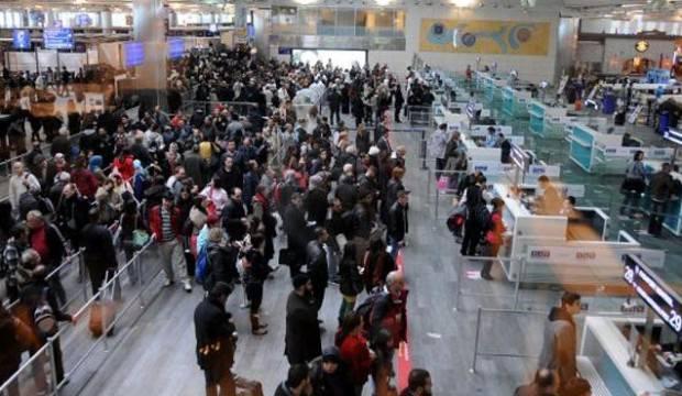 Havayolu yolcu sayısında büyük artış!