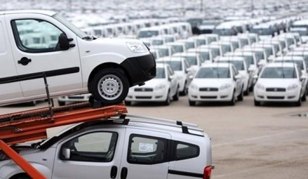 Otomobil ve hafif ticari araç pazarı daraldı