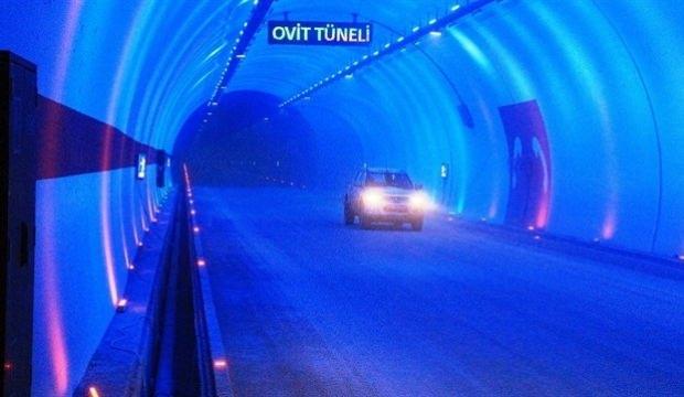 Ovit Tüneli'nin açılış tarihi belli oldu