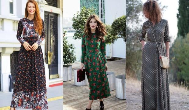 Sezonun trend elbise modelleri ile 3 farklı kombin