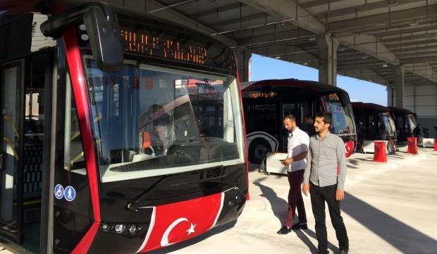 Yerli üretim 'ELBÜS' otobüsler hizmete girdi