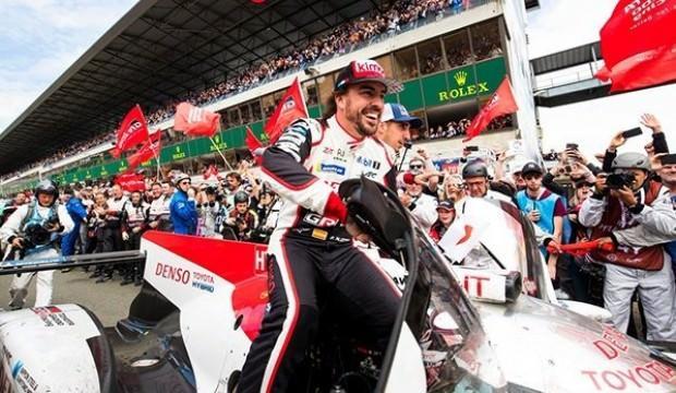 Alonso, Le Mans'da zafere ulaştı