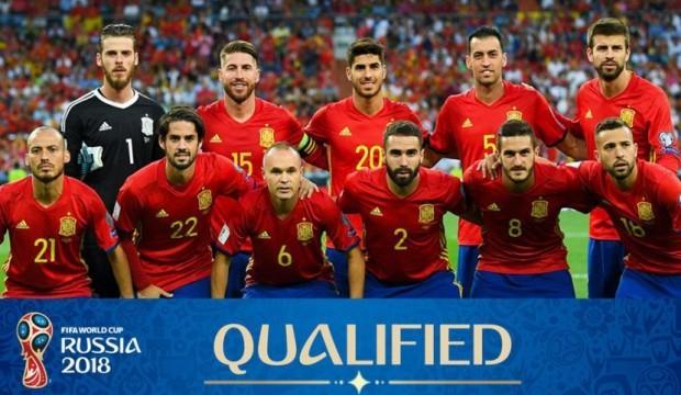 Dünya Kupası'nın favorisi İspanya