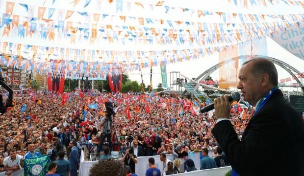 Erdoğan: Sen Amerikalılardan yeni telefon bekle!