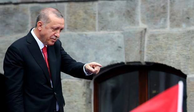 Açılışta Erdoğan'ın duygulandıran olay!