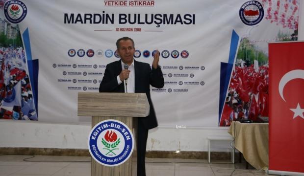 Esen Mardin'de teşkilat ile biraraya geldi