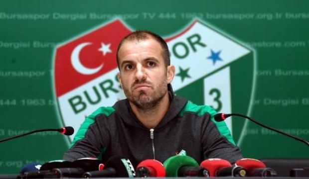 Bursaspor'da şok ayrılık! Görevi bıraktı