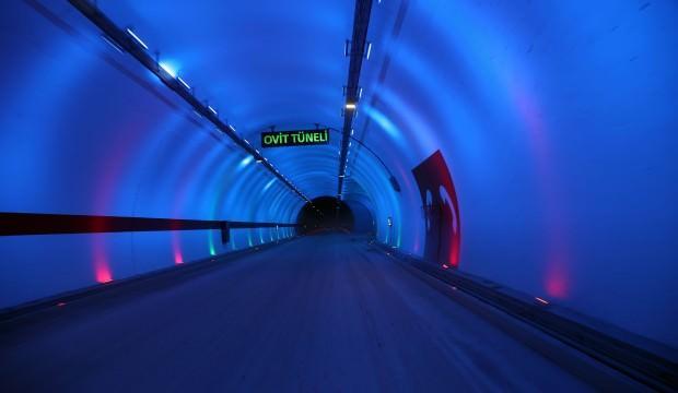 Ovit Tüneli hizmete açıldı