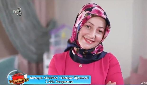 TV 8 Yemekteyiz Nurhayat Aydoğan kimdir? Nereli ve ne iş yapıyor?