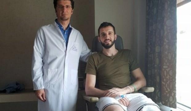 Furkan Aldemir ameliyat edildi