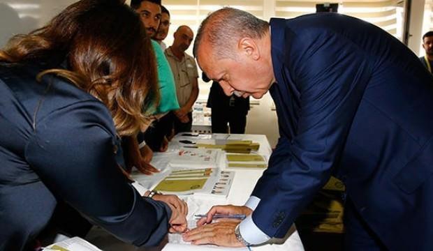 Erdoğan'ın oy kullandığı sandıkta sayım bitti!