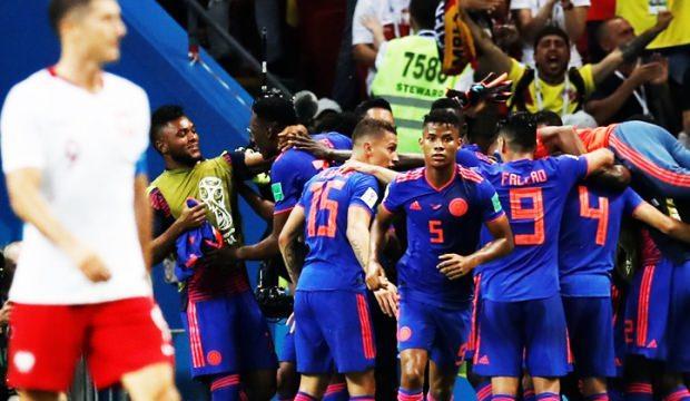 Kolombiya kazandı Polonya veda etti!