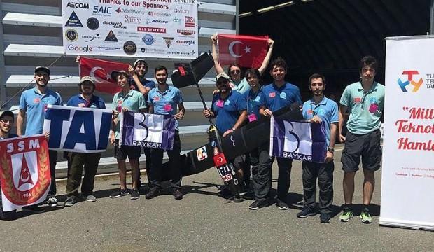 ABD'deki İHA yarışmasında Türk rüzgarı