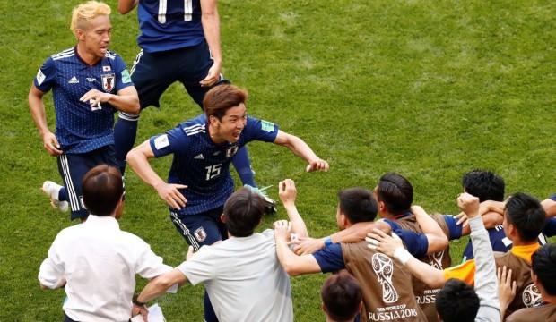Japonya'dan Dünya Kupası'nda tarihi zafer!