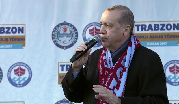 Trabzon'da seçimin galibi AK Parti ve Erdoğan