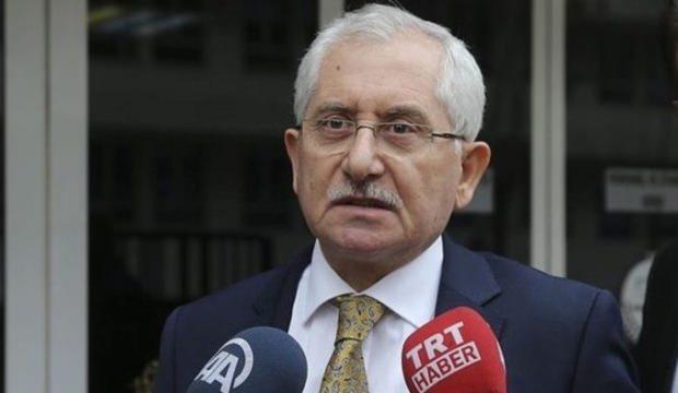 YSK Başkanı seçim sonuçları için saat verdi