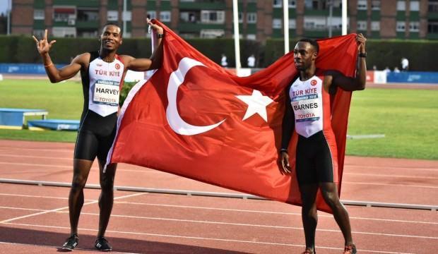 100 metrede altın ve gümüş Türkiye'nin!