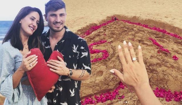 Survivor'da Sahra Işık'a sürpriz evlilik teklifi!